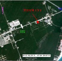 Foto de terreno habitacional en venta en  , tulum centro, tulum, quintana roo, 3645999 No. 01