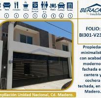 Foto de casa en venta en  , unidad nacional, ciudad madero, tamaulipas, 4284759 No. 01