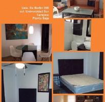 Foto de departamento en renta en  , universidad sur, tampico, tamaulipas, 2631647 No. 01