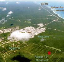Foto de terreno comercial en venta en, villas tulum, tulum, quintana roo, 1722544 no 01