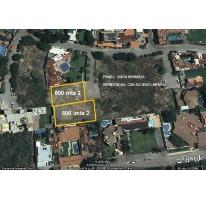 Foto de terreno habitacional en venta en, vista hermosa, cuernavaca, morelos, 1210357 no 01