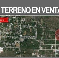 Foto de terreno habitacional en venta en  , xcanatún, mérida, yucatán, 3769390 No. 01