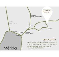 Foto de terreno habitacional en venta en  , yaxkukul, yaxkukul, yucatán, 2597411 No. 01