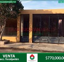 Foto de casa en venta en  , yucalpeten, mérida, yucatán, 3841203 No. 01
