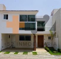 Foto de casa en venta en  , zerezotla, san pedro cholula, puebla, 4245754 No. 01