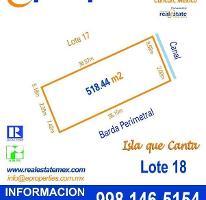 Foto de terreno habitacional en venta en  , zona hotelera, benito juárez, quintana roo, 1071565 No. 01