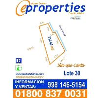 Foto de terreno habitacional en venta en  , zona hotelera, benito juárez, quintana roo, 2050640 No. 01