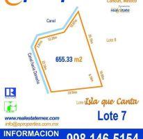 Foto de terreno habitacional en venta en, zona hotelera, benito juárez, quintana roo, 2053470 no 01