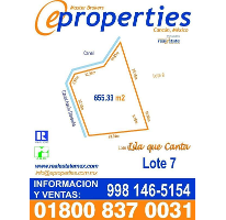 Foto de terreno habitacional en venta en  , zona hotelera, benito juárez, quintana roo, 2053470 No. 01