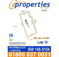 Foto de terreno habitacional en venta en  , zona hotelera, benito juárez, quintana roo, 2054376 No. 01