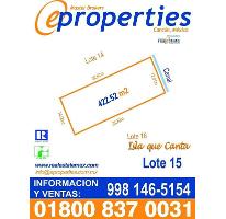 Foto de terreno habitacional en venta en  , zona hotelera, benito juárez, quintana roo, 2247360 No. 01