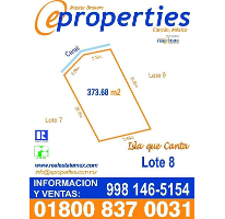 Foto de terreno habitacional en venta en  , zona hotelera, benito juárez, quintana roo, 2250191 No. 01