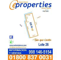 Foto de terreno habitacional en venta en  , zona hotelera, benito juárez, quintana roo, 2308175 No. 01