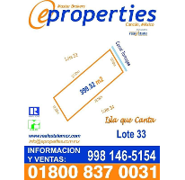 Foto de terreno habitacional en venta en  , zona hotelera, benito juárez, quintana roo, 2317756 No. 01