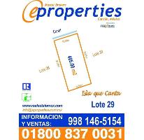 Foto de terreno habitacional en venta en  , zona hotelera, benito juárez, quintana roo, 2341726 No. 01