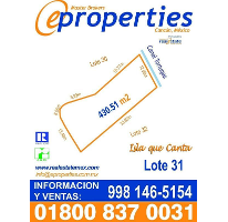Foto de terreno habitacional en venta en  , zona hotelera, benito juárez, quintana roo, 2530595 No. 01