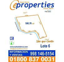 Foto de terreno habitacional en venta en  , zona hotelera, benito juárez, quintana roo, 2599835 No. 01