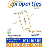 Foto de terreno habitacional en venta en  , zona hotelera, benito juárez, quintana roo, 2642183 No. 01