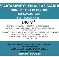 Foto de departamento en venta en  , zona hotelera, benito juárez, quintana roo, 3938606 No. 01