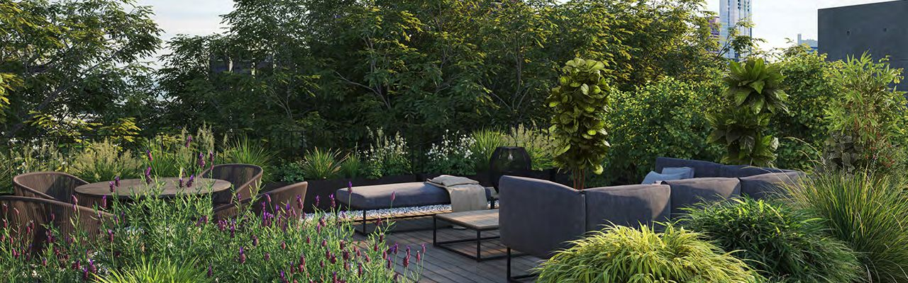 Deck polanco, id 5676469, jardín zen, 1059