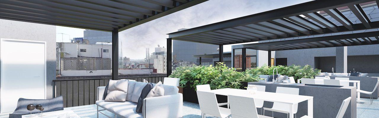 Blas pascal polanco, id 3575919, roof garden privado, 516