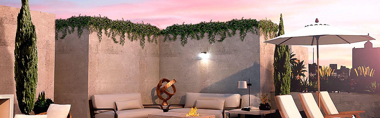 Residencial adolfo prieto 805, id 7629470, roof garden, 930