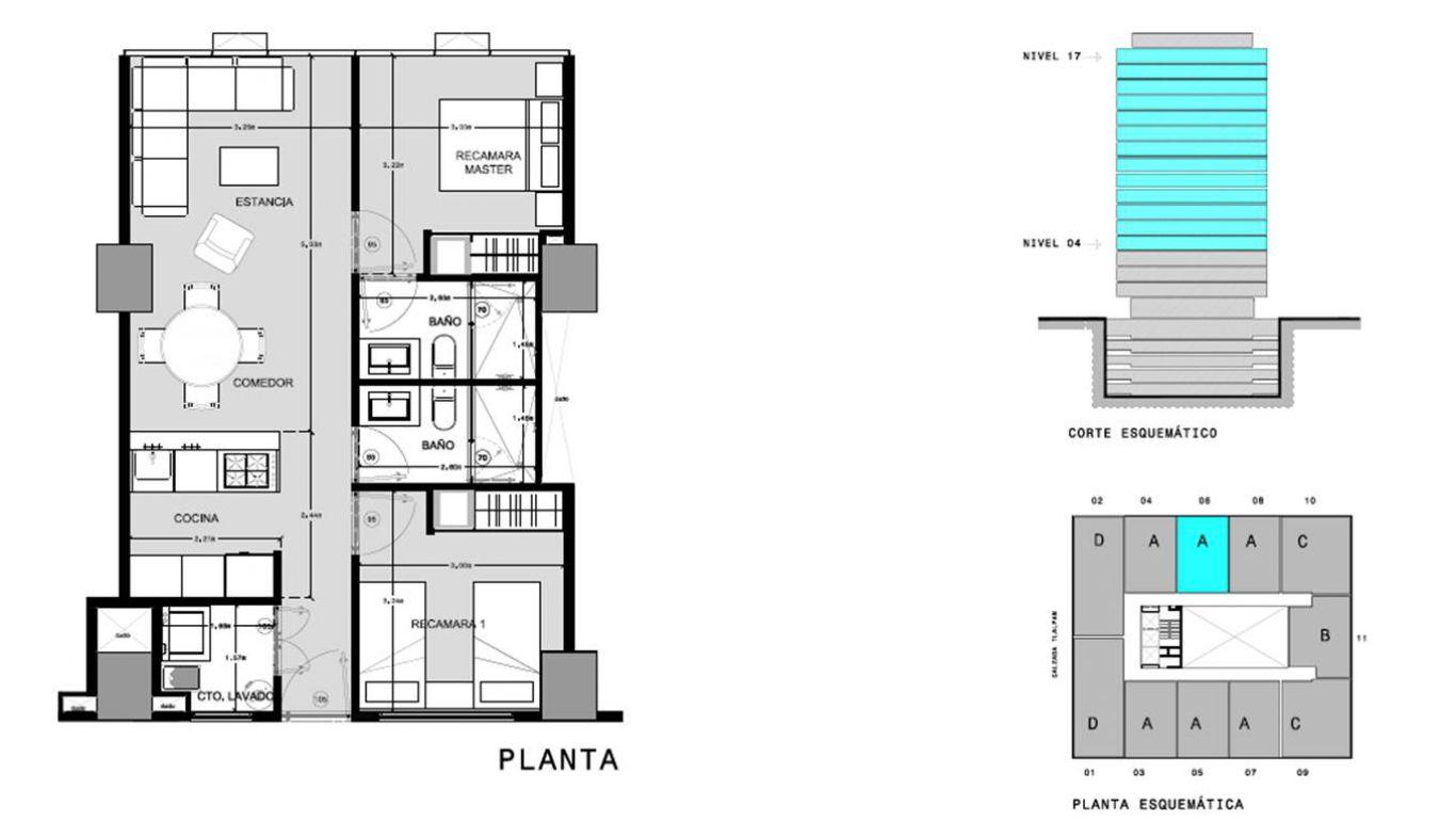 Capitolio residencial nuevo coyoacan, id 1659155, no 1, plano de a706, 563
