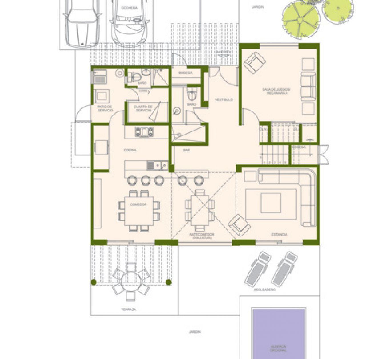 Residencial paraíso country club, id 1525184, no 1, plano de albatross, 403