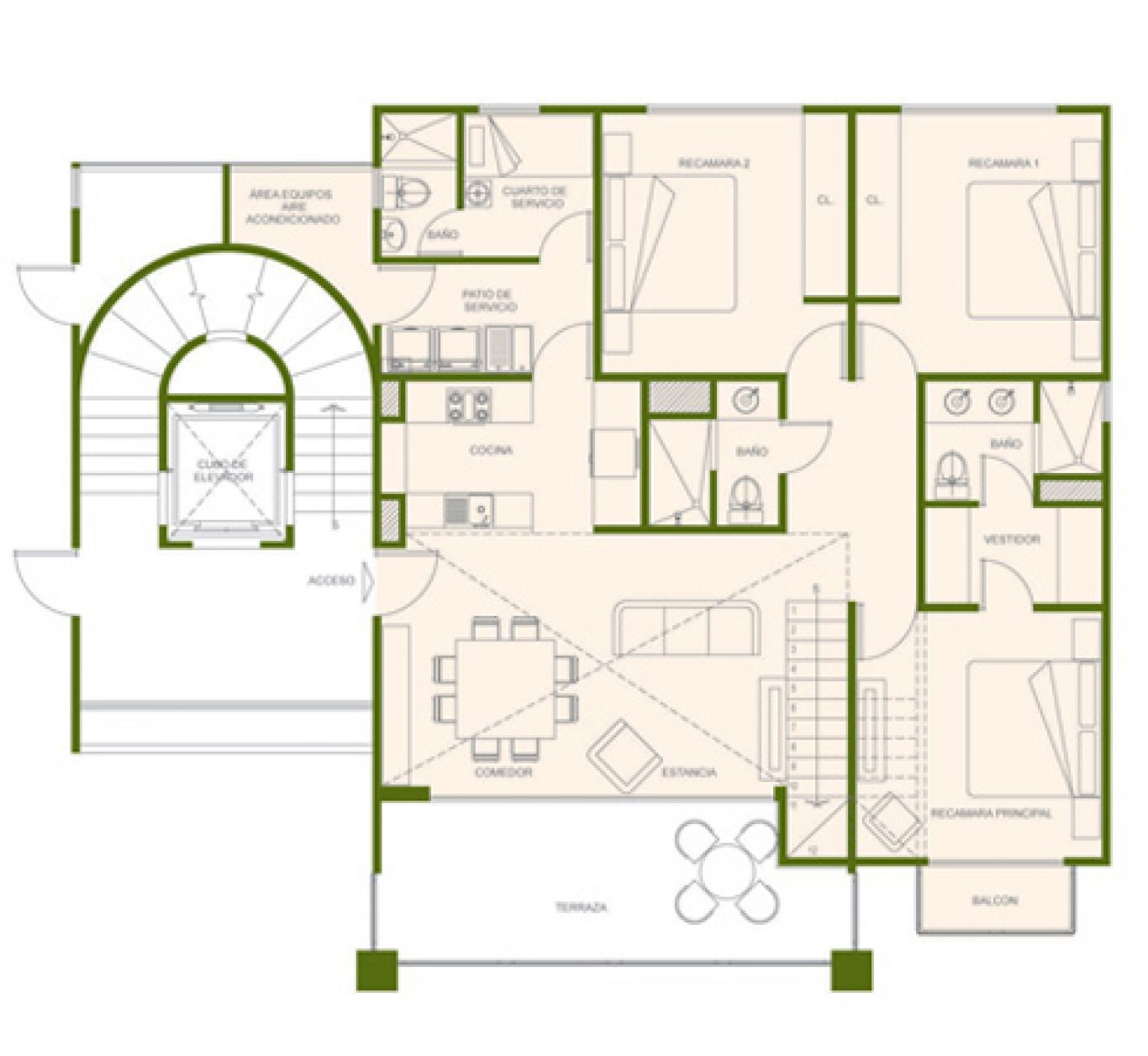 Residencial paraíso country club, id 1525184, no 1, plano de birdie ph, 411