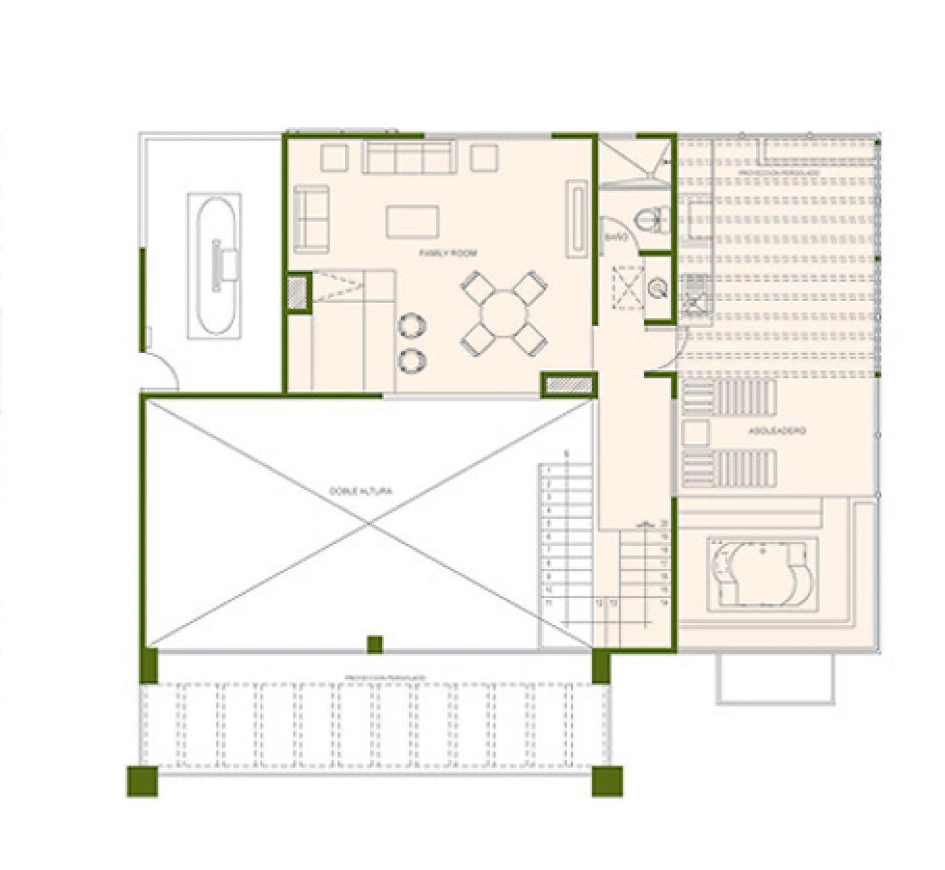 Residencial paraíso country club, id 1525184, no 2, plano de birdie ph, 411