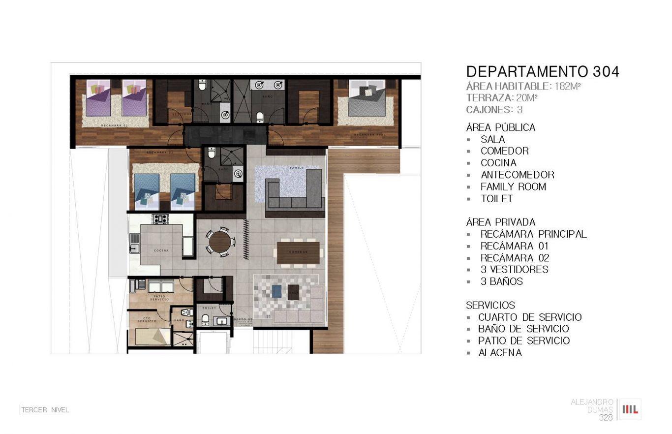 Dumas 328, id 2364171, no 1, plano de departamento 304, 776