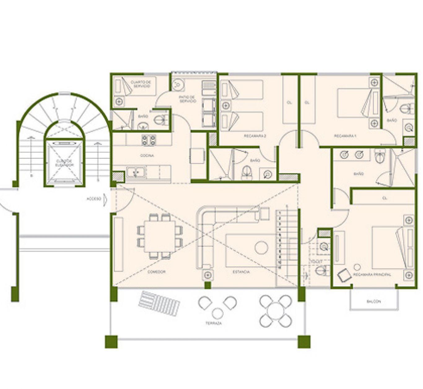 Residencial paraíso country club, id 1525184, no 2, plano de eagle ph, 407