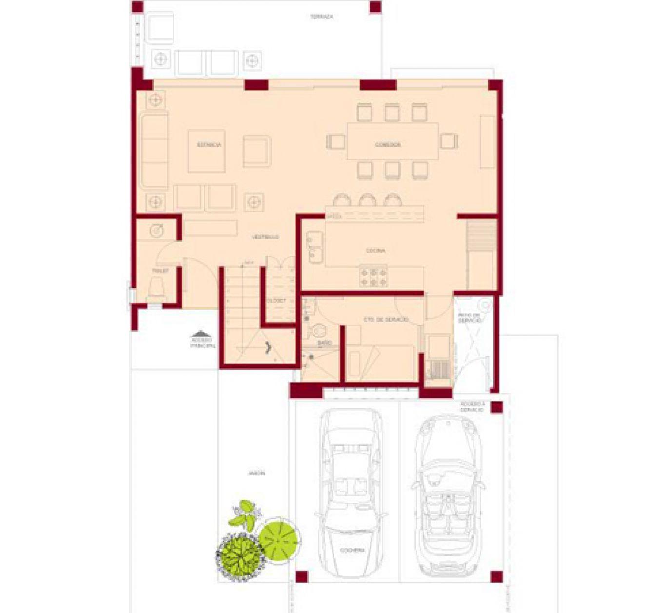 Residencial paraíso country club, id 1525184, no 2, plano de fairway, 405