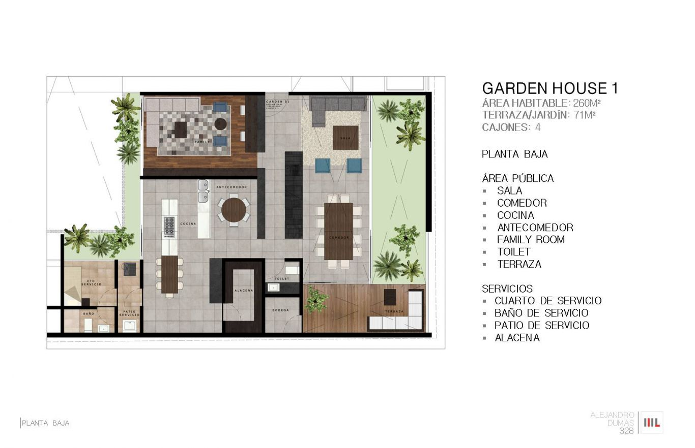Dumas 328, id 2364171, no 1, plano de garden house 1, 765