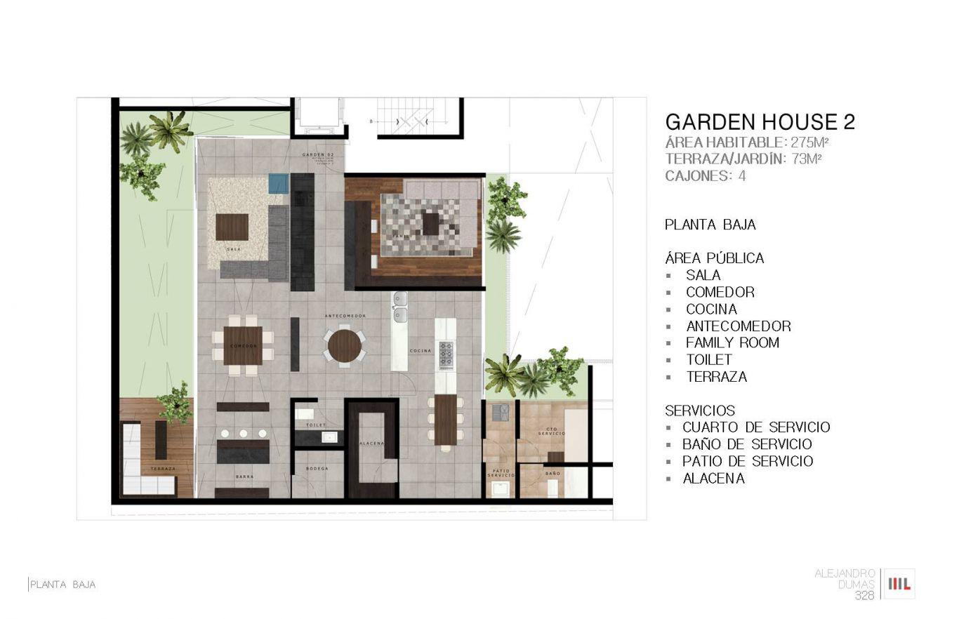 Dumas 328, id 2364171, no 1, plano de garden house 2 , 767