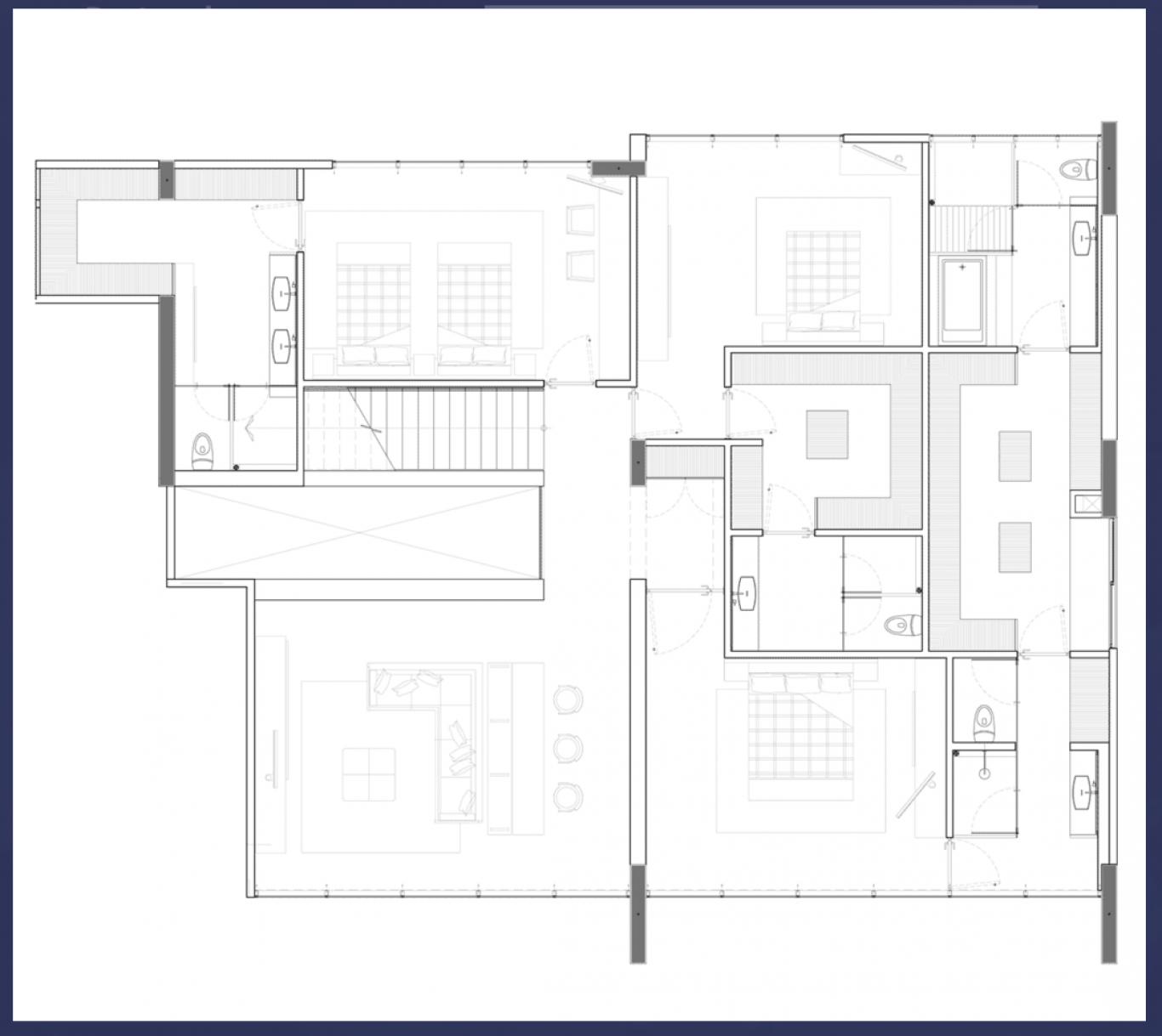 Club residencial bosques, id 1472095, no 1, plano de pentgarden tipo 3, 13