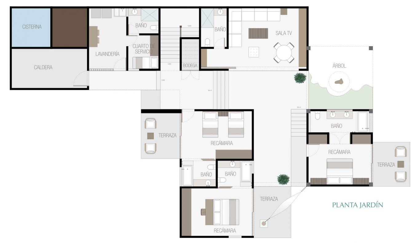 Manai, id 1519068, no 2, plano de villa 2, 286