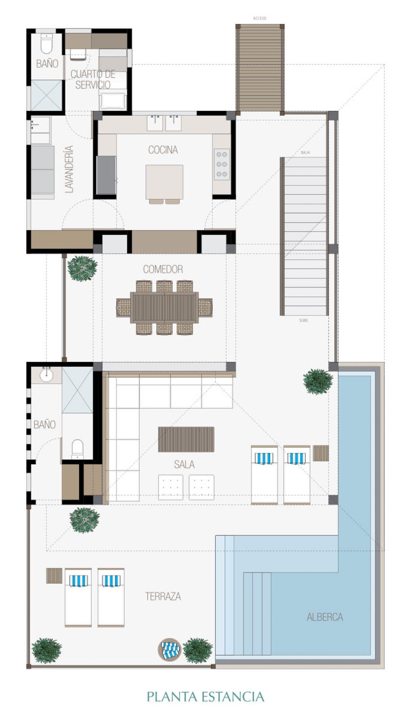 Manai, id 1519068, no 4, plano de villa 4, 296