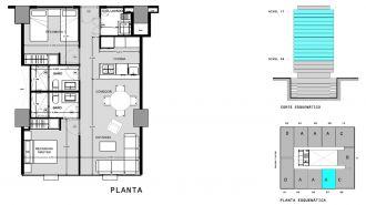 Capitolio residencial nuevo coyoacan, id 1659155, no 1, plano de a507, 551