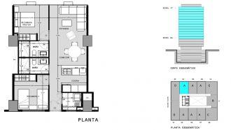 Capitolio residencial nuevo coyoacan, id 1659155, no 1, plano de a704, 567