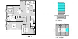 Capitolio residencial nuevo coyoacan, id 1659155, no 1, plano de b1111, 555