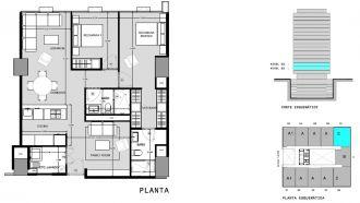 Capitolio residencial nuevo coyoacan, id 1659155, no 1, plano de c310, 541