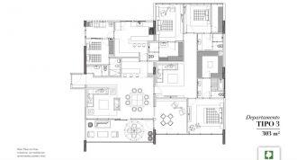 Club residencial bosques, id 1472095, no 1, plano de departamento tipo 3, 7
