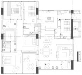Club residencial bosques, id 1472095, no 1, plano de departamento tipo a, 803