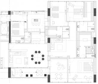 Club residencial bosques, id 1472095, no 1, plano de departamento tipo b, 801