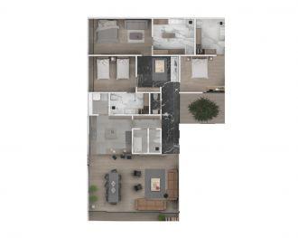 Deck polanco, id 5676469, no 1, plano de depto 101, 1461