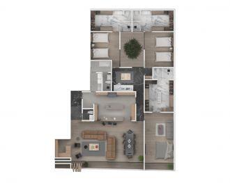 Deck polanco, id 5676469, no 1, plano de depto 102, 1459