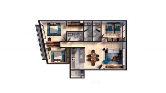 Mitla 390, id 9346365, no 1, plano de exclusive house 201, 3153