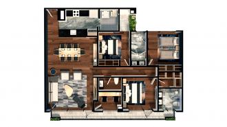 Residencial adolfo prieto 805, id 7629470, no 1, plano de exclusive house 202, 2320