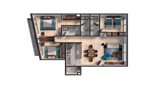 Mitla 390, id 9346365, no 1, plano de exclusive house 301, 3165